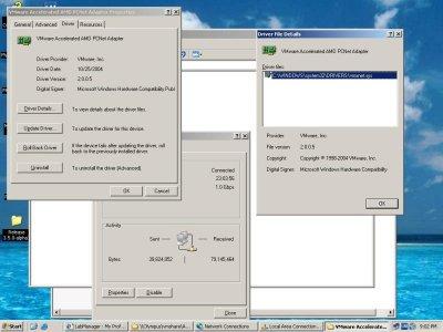 vmxnet Windows driver